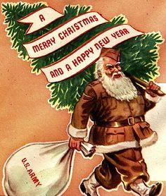 WWII Santa