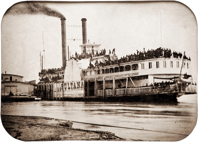 Steamer Sultana during the Civil War