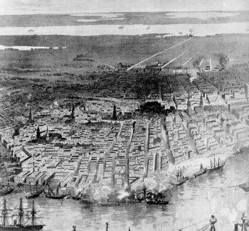 New Orleans 1862 rendering