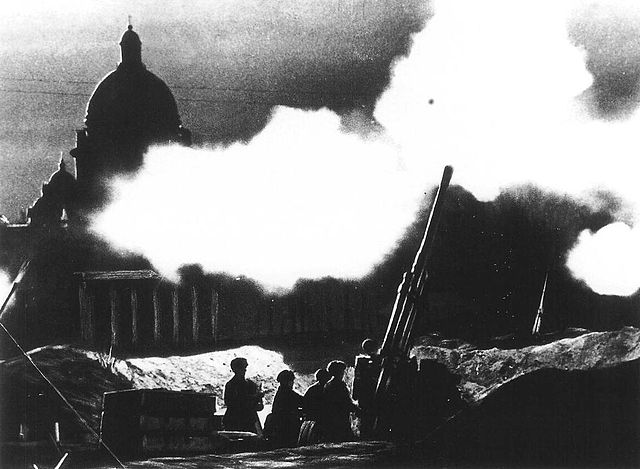 Bombing of Leningrad WWII
