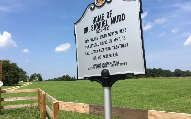 Dr. Samuel A. Mudd House Historical Marker