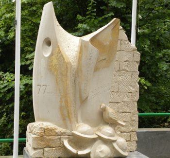 Monument to the Lost Battalion in the Argonne Forest, France