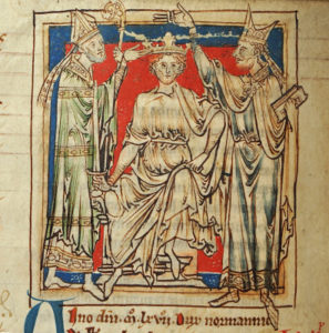 Coronation of William the Conqueror in 1066