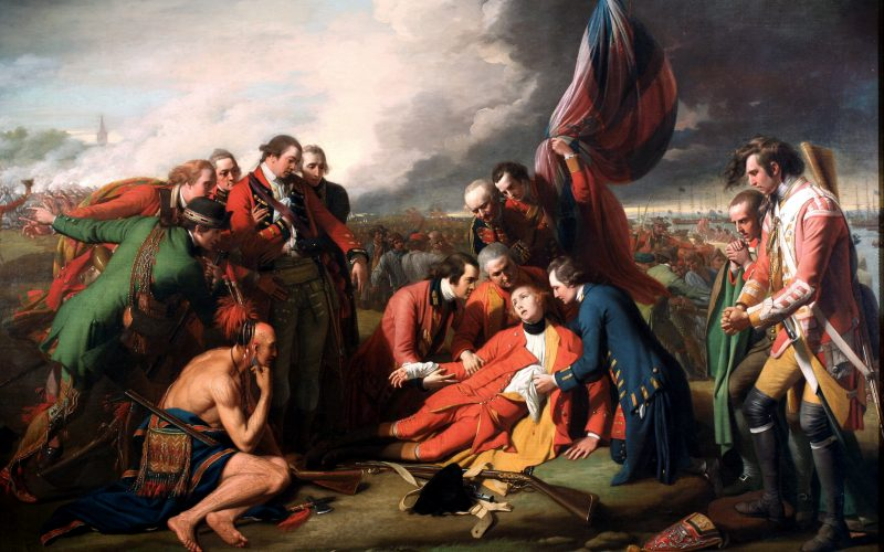 """The Death of General Wolfe"" by Benjamin West"