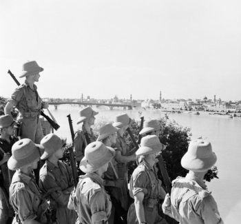 British Troops in Baghdad, Iraq in 1941