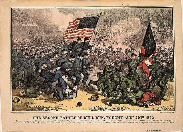 Second Battle of Bull Run painting