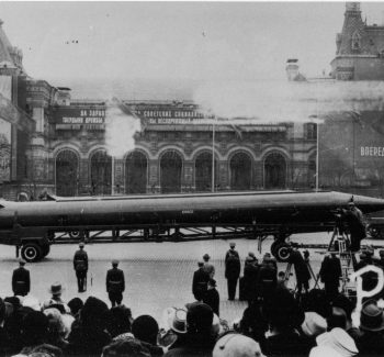 Soviet R12 nuclear ballistic missile