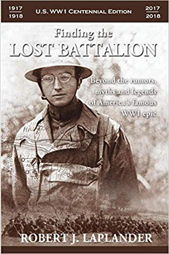 Finding the Lost Battalion book cover