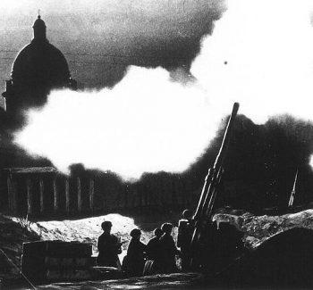 St. Isaacs Cathedral Leningrad 1941